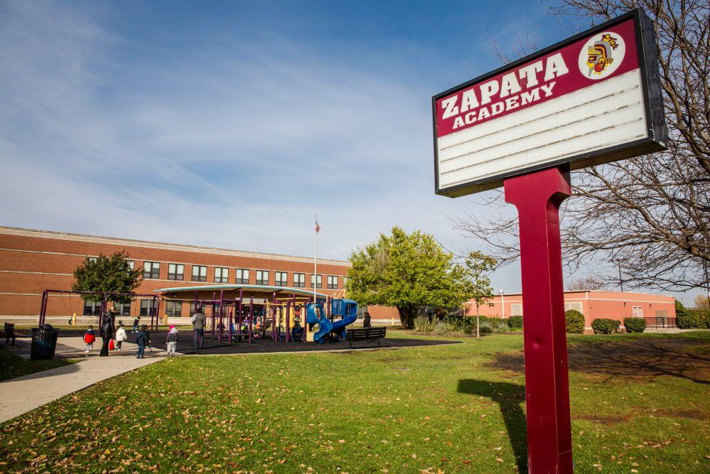Emiliano Zapata Elementary Academy, 2728 S Kostner Ave. | Santiago Covarrubias/Sun-Times