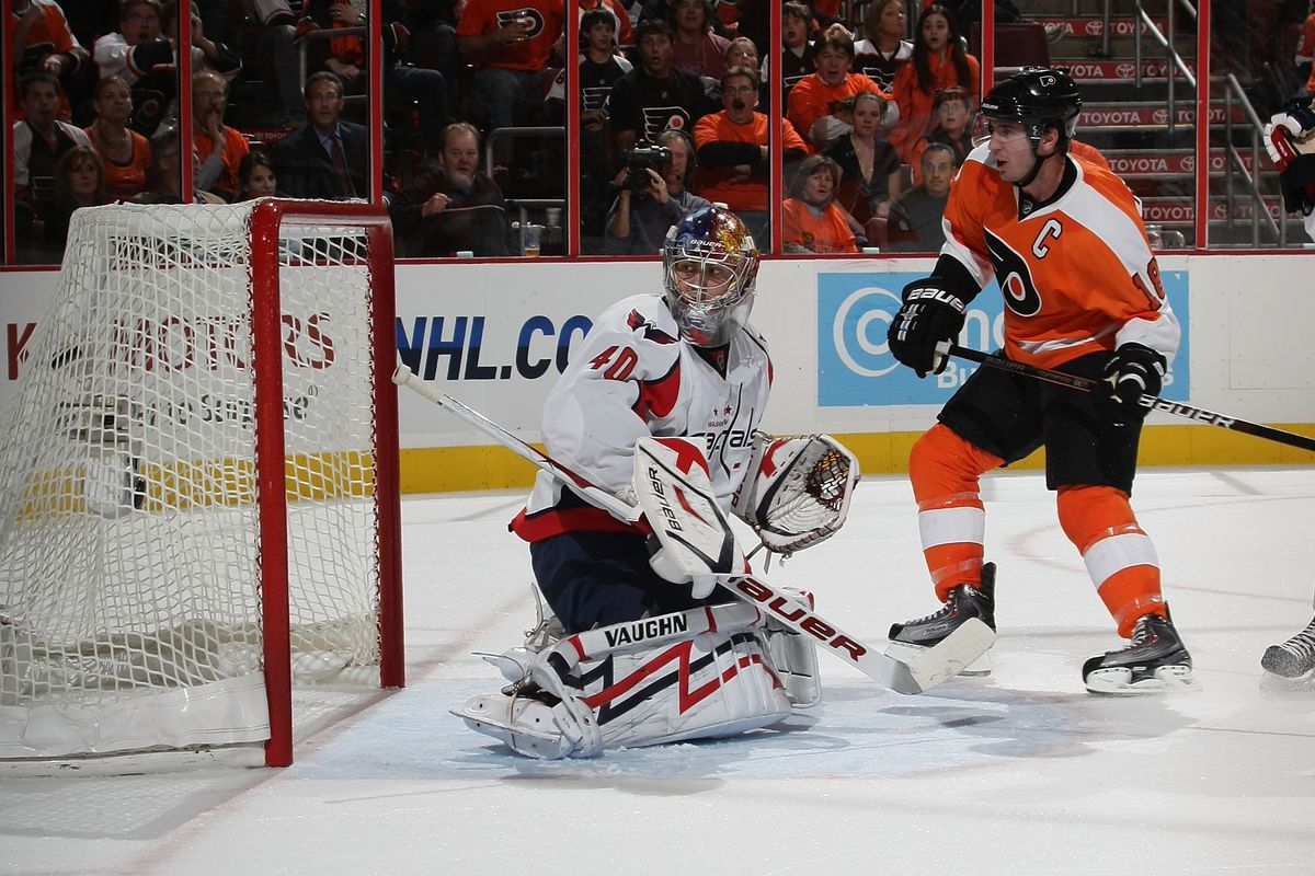 Today in Philadelphia Flyers history  Lindros first NHL goal in ... 7b3e7bd3f