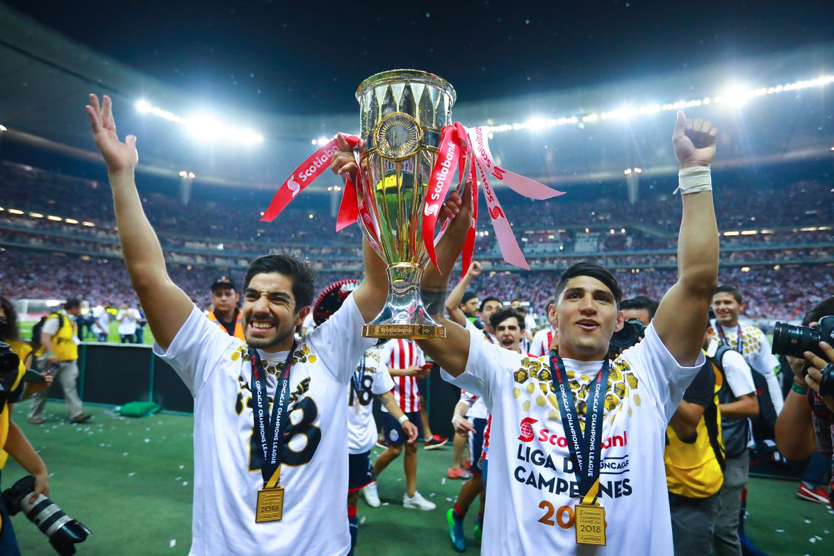 major link soccer: chivas win 2018 concacaf champions league