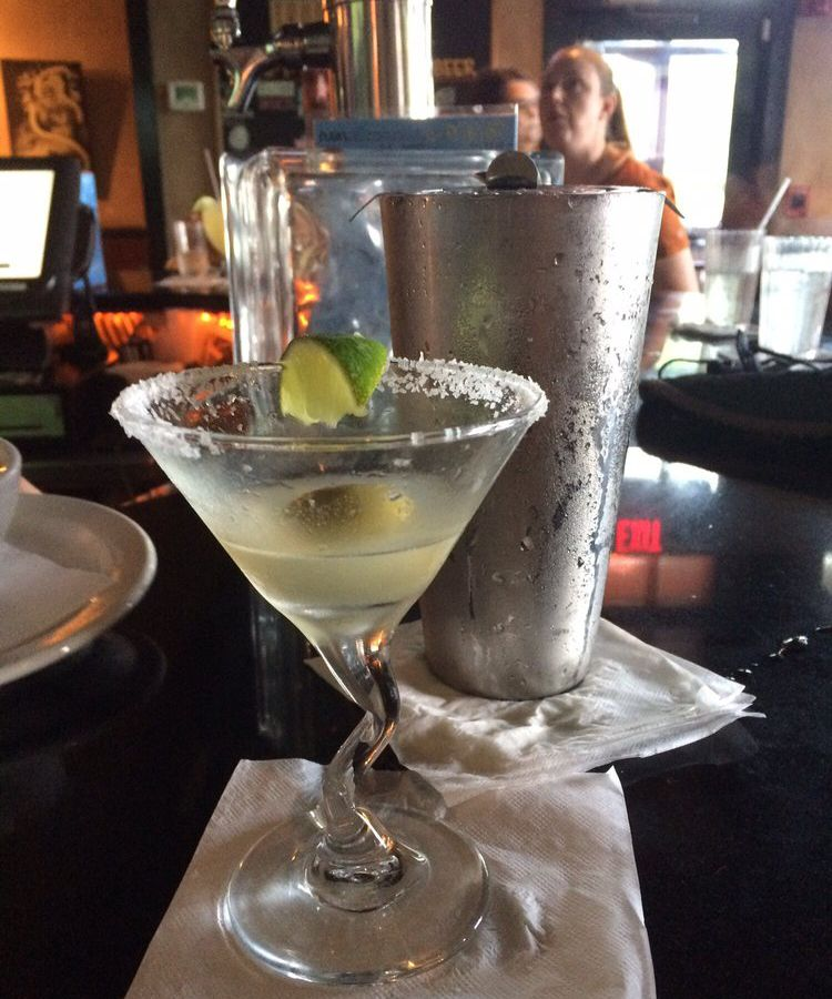 Mexican martini at Trudy's