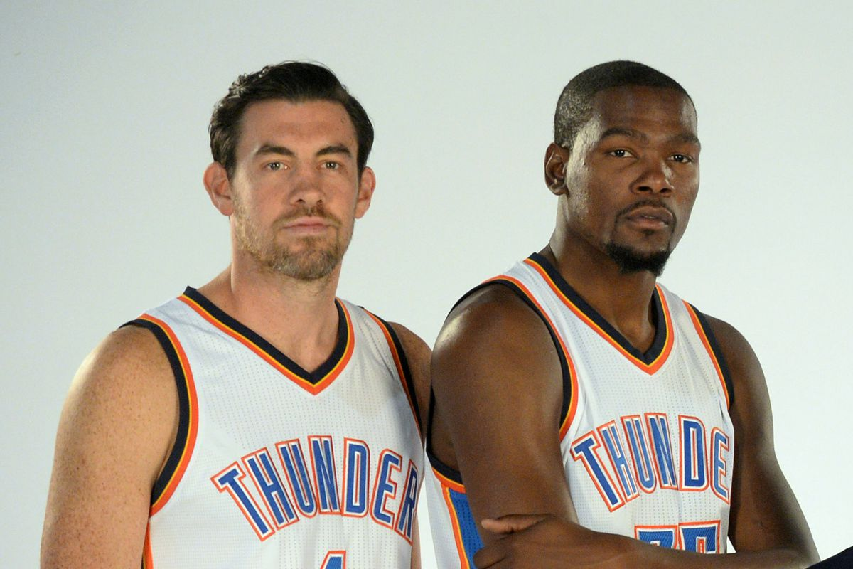 timeless design 09e9f 43724 Kevin Durant to return to OKC for Nick Collison's jersey ...