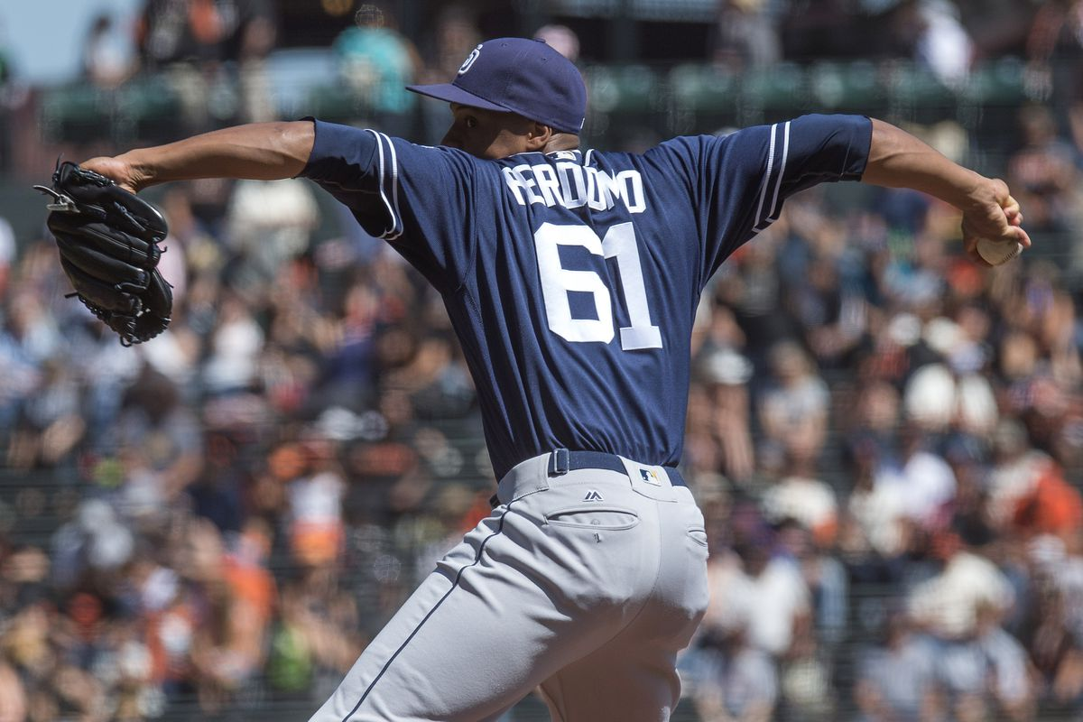 The thing about Luis Perdomo is that he pitches more like a guy with a 4.89 ERA instead of a 5.89 ERA, so what are you gonna do?