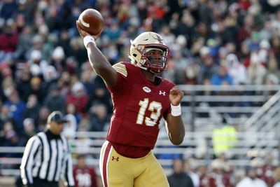 NCAA Football: Syracuse at Boston College