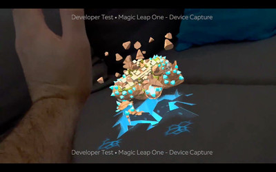 Magic Leap Dodge Demo