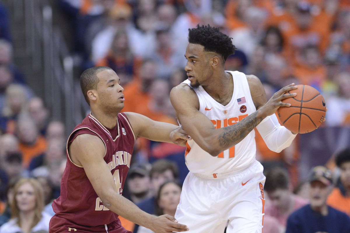 Final Boston College Basketball Falls To Syracuse 67 56 Bc