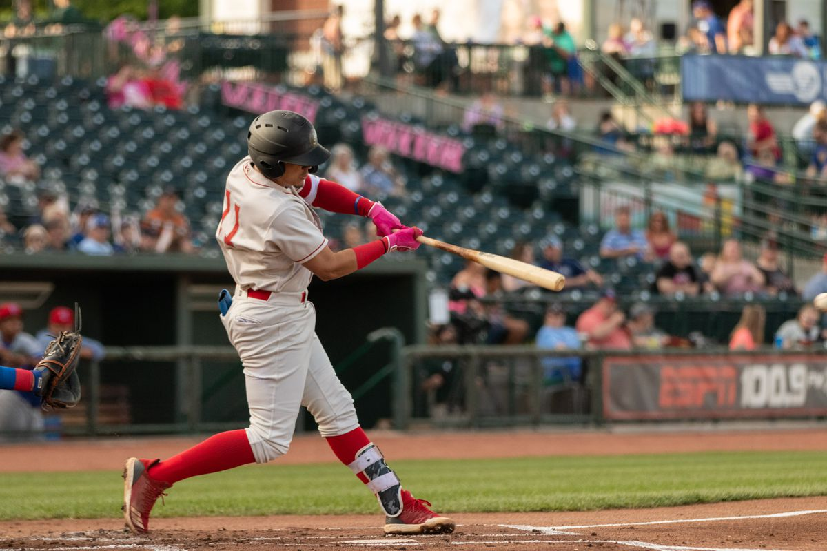 Miguel Vargas with Great Lakes Loons