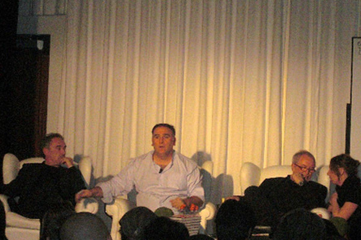 Ferran Adrià, José Andrés, and Juan Mari Arzak