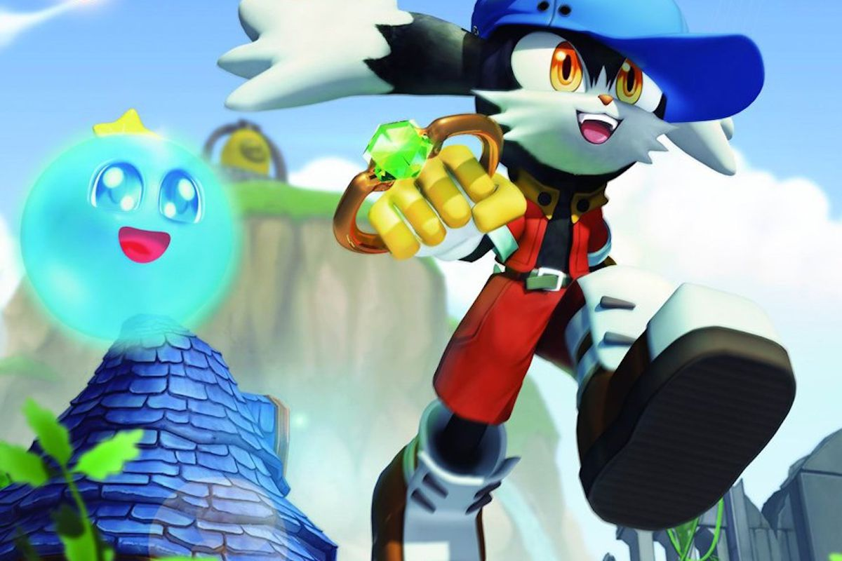 packaging artwork of Klonoa from the 2008 Wii remake