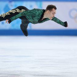 Paul Bonifacio Parkinson, Italy, figure skating