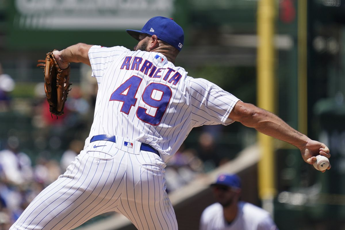 Jake Arrieta's end with the Cubs came hard and nastily.