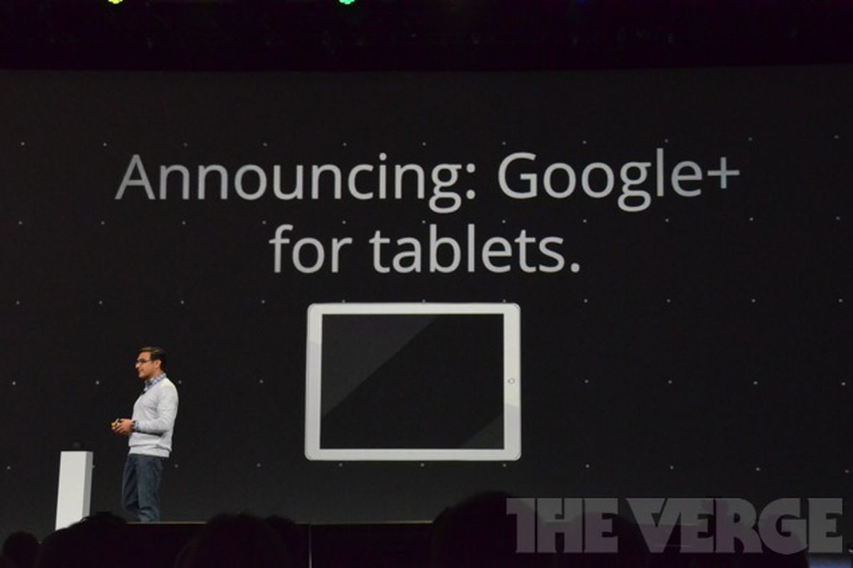 Google announces tablet version of Google+ for Android ...