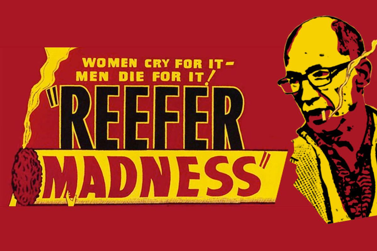 Code/red: Peter Thiel's Reefer Madness