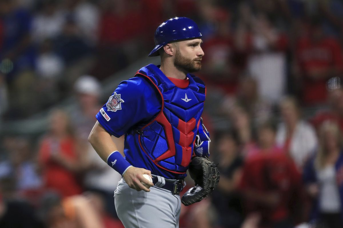 Jonathan Lucroy, who signed a minor league deal with an invitation to White Sox spring training, played for the Cubs in 2019.