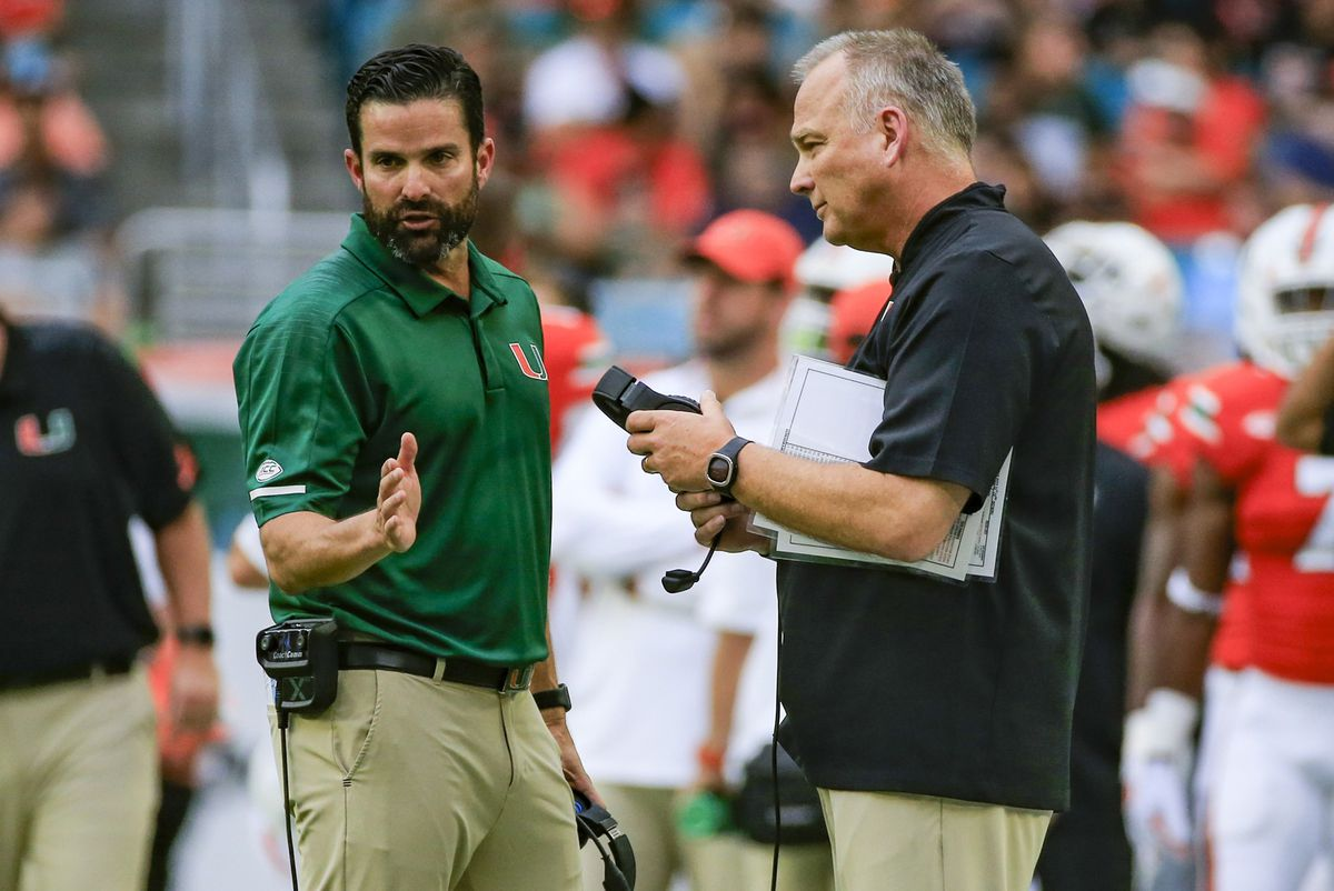 Miami defensive coordinator Manny Diaz reportedly set to take over as Temple head coach