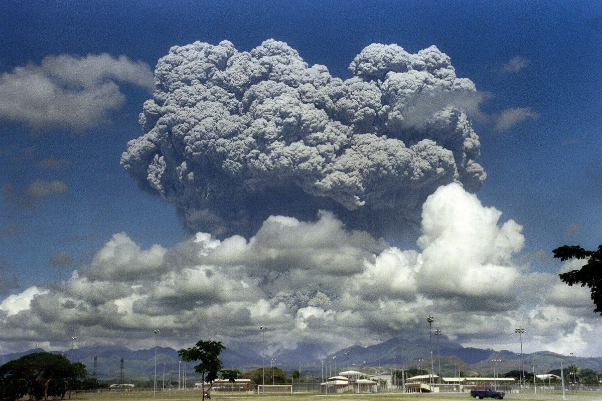 When Pinatubo erupted in 1991, it released enough sulfates to cool the Earth 0.3°C for three years. Should we try something similar?