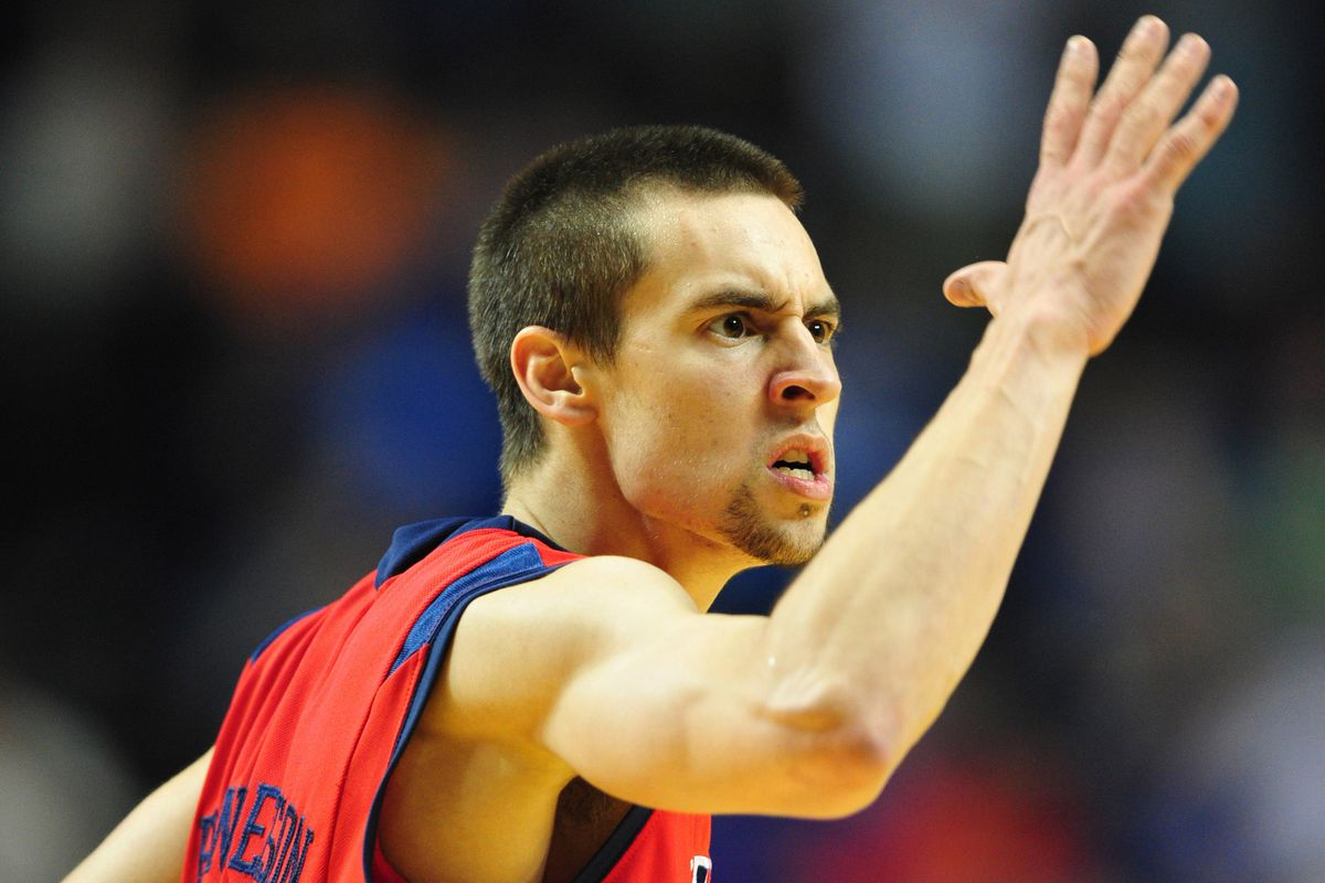 Wisconsin gets a crack at the uber-talented, kinda-crazy Marshall Henderson on Friday.