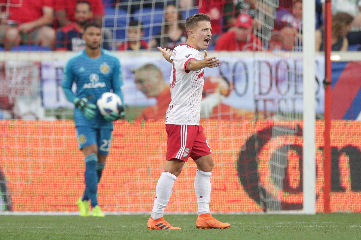 MLS: Columbus Crew at New York Red Bulls