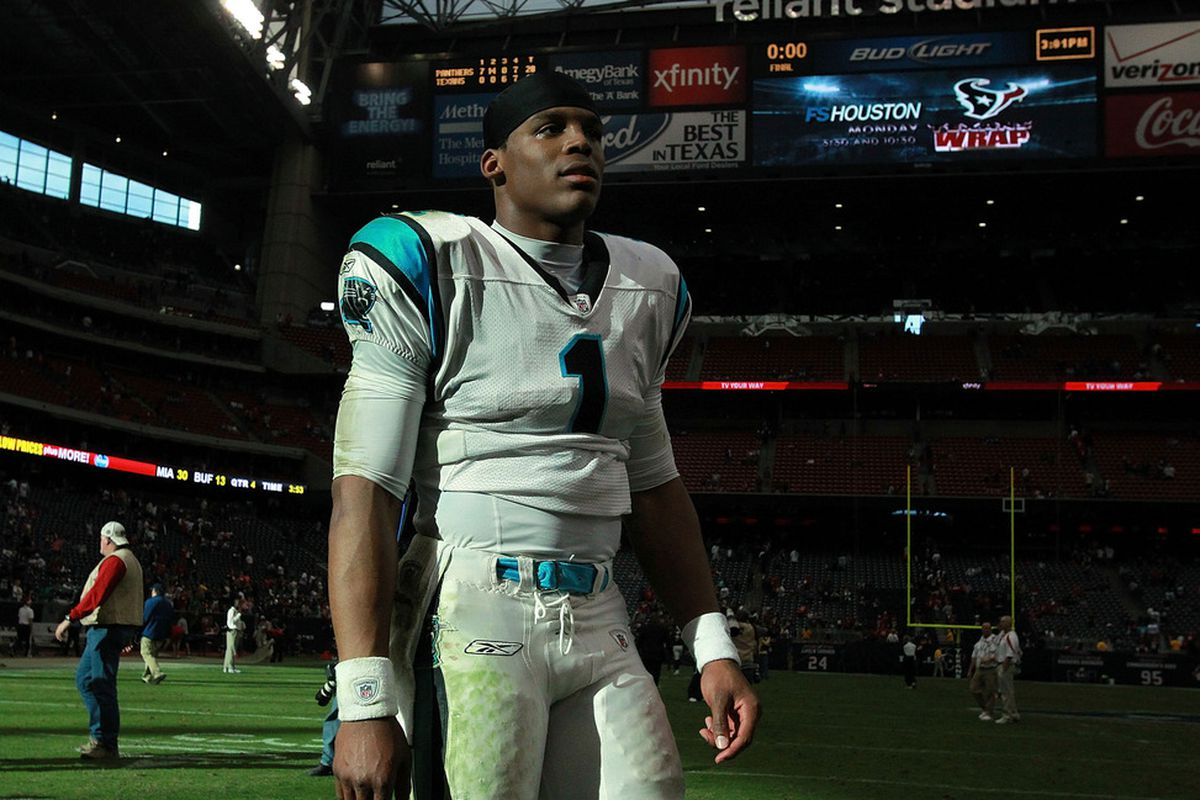 Scrutiny of Cam Newton is welcome, just make sure it's well thought out.  (Photo by Ronald Martinez/Getty Images)