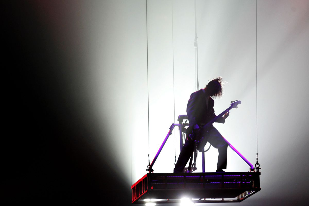 The Trans-Siberian Orchestra performs in Salt Lake City on Thursday, Nov. 13, 2008.