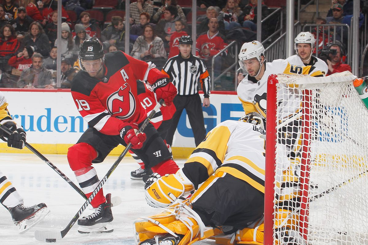 New Jersey Devils Dominated a Pathetic-Performing Pittsburgh Penguins 66595f49a