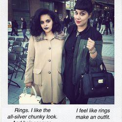 """Amanda Nakfa, <a href=""""http://instagram.com/_nakfa"""">@_nakfa</a> and Ellie Webster, <a href=""""http://instagram.com/ellienatasha"""">@ellienatasha</a>"""