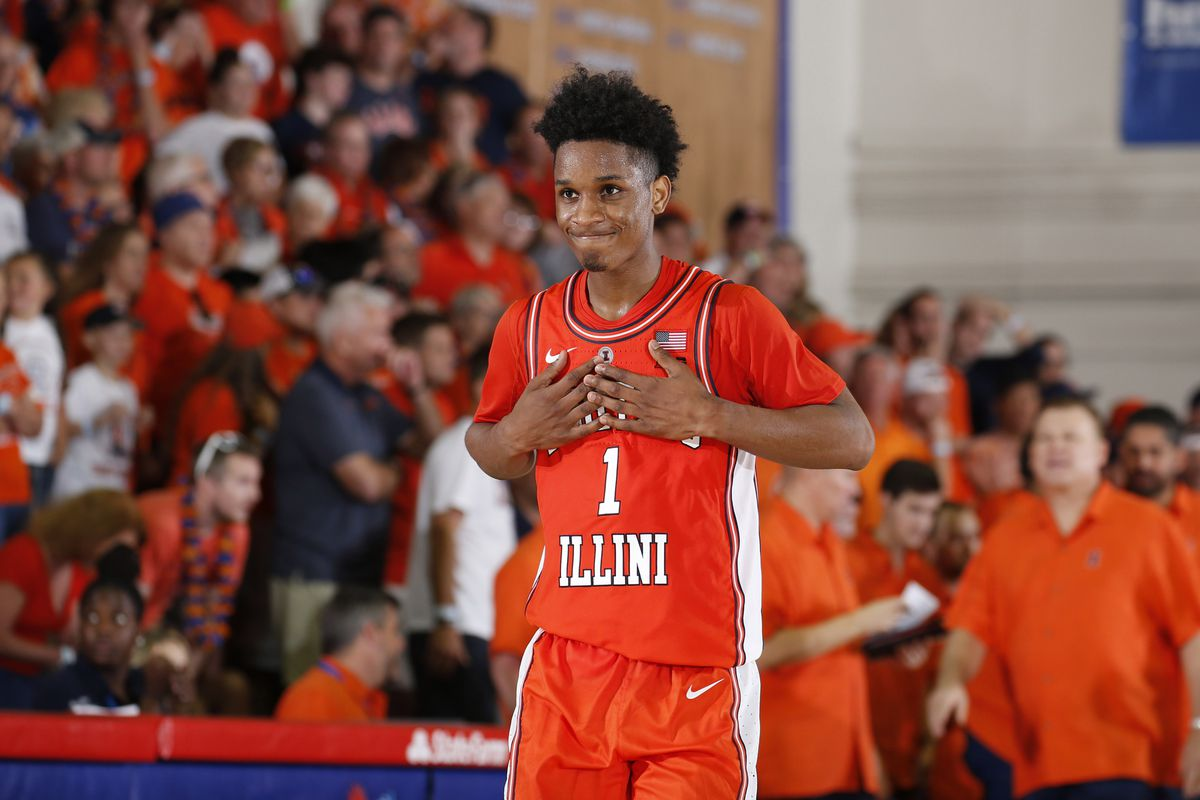 NCAA Basketball: Gonzaga at Illinois