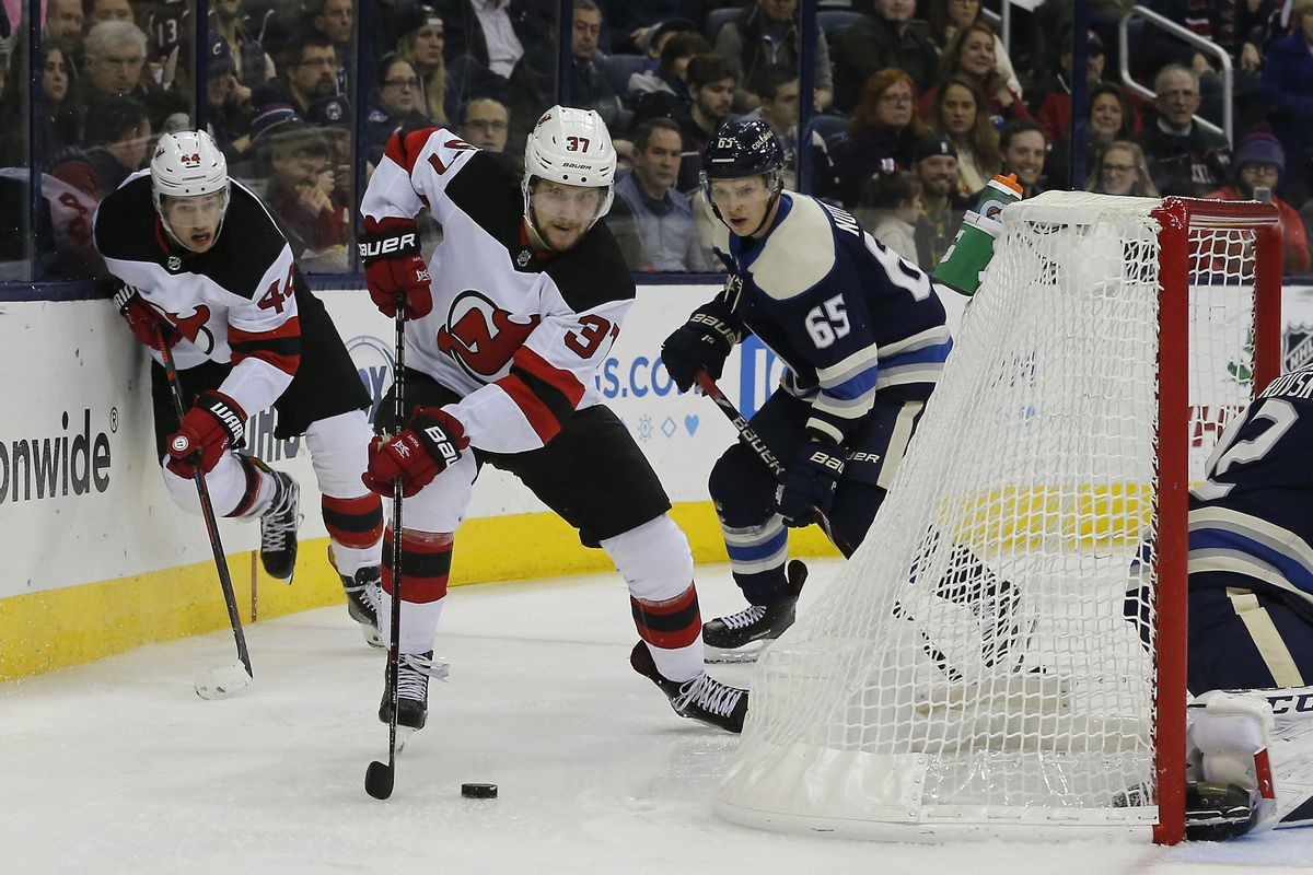 the best attitude 7e9ca 9b183 Game Preview #46: New Jersey Devils @ Columbus Blue Jackets ...