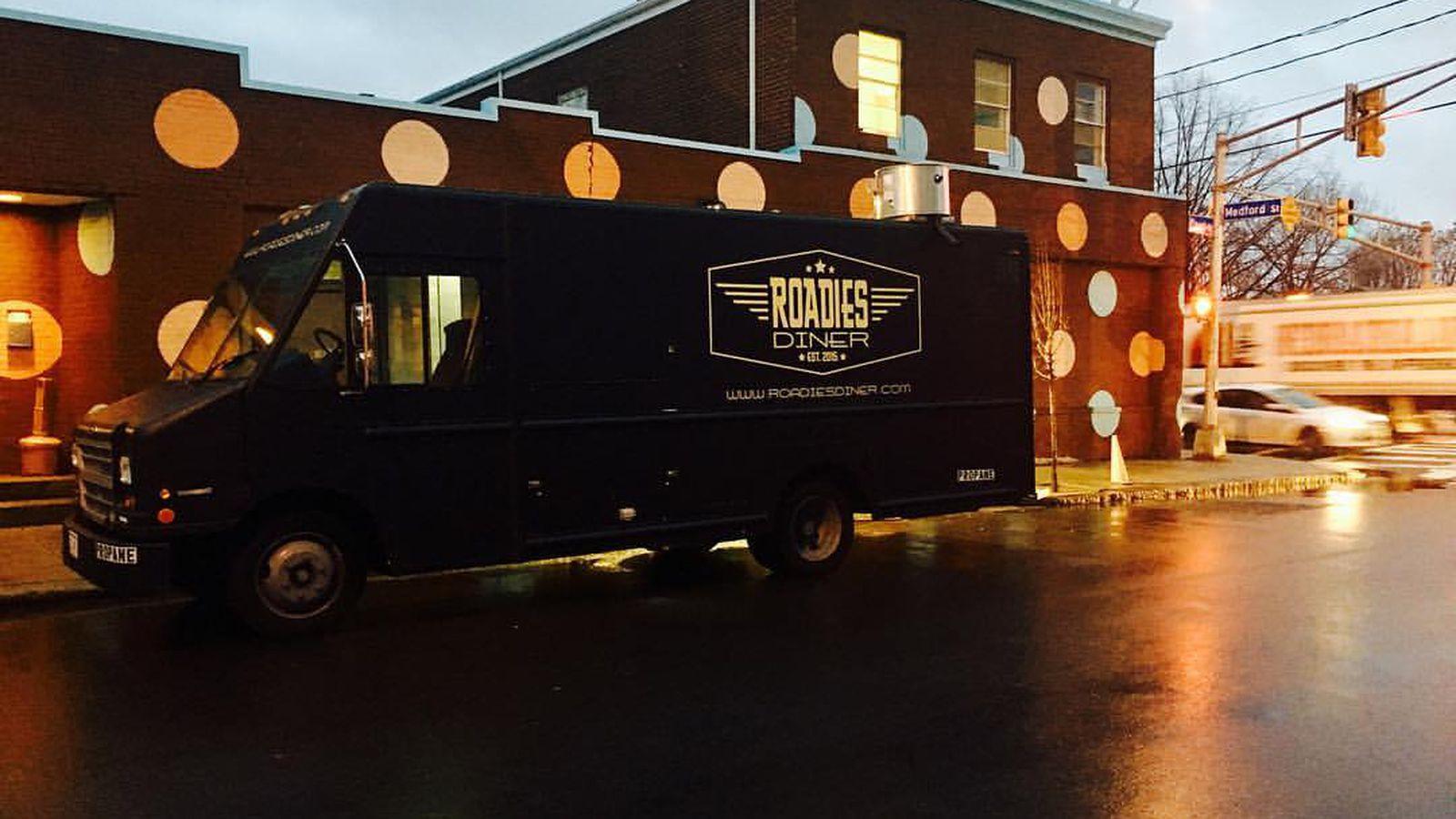 Roadies Diner Food Truck Menu