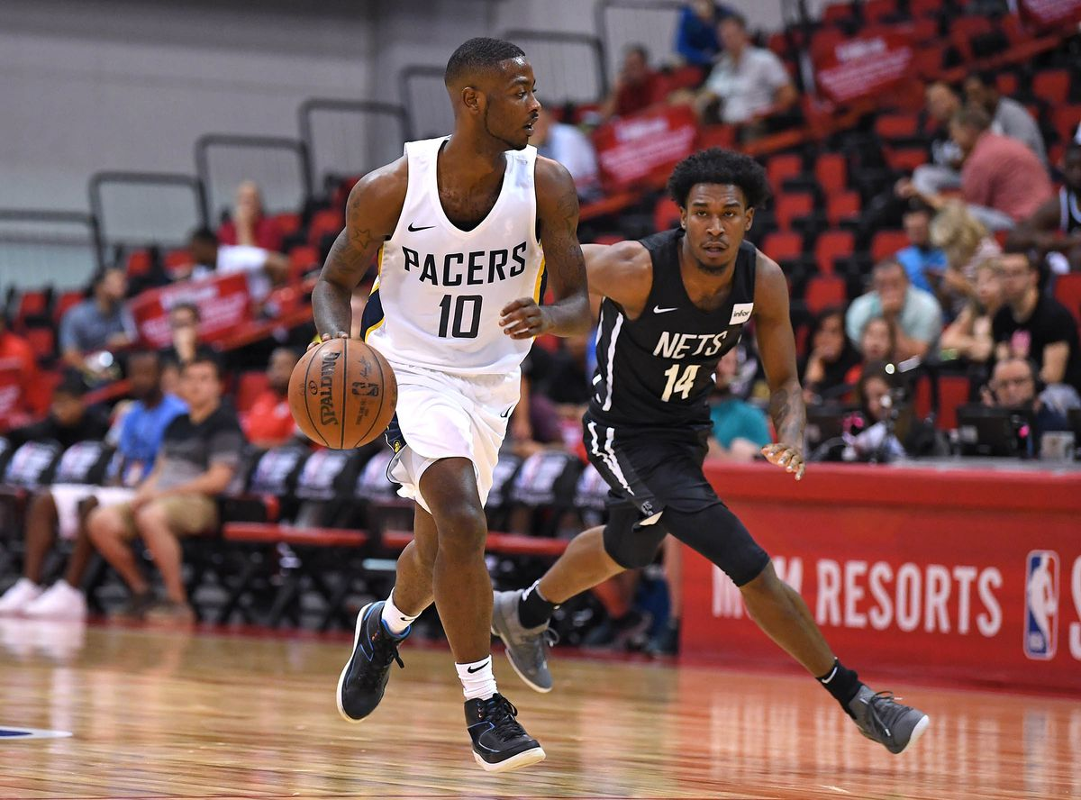 NBA: Summer League-Brooklyn Nets at Indiana Pacers