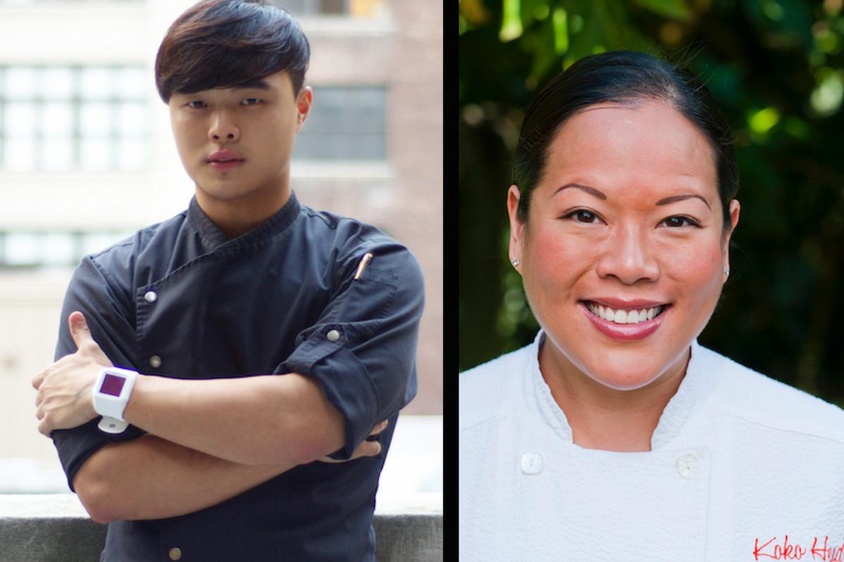 Deuki Hong and Lee Anne Wong