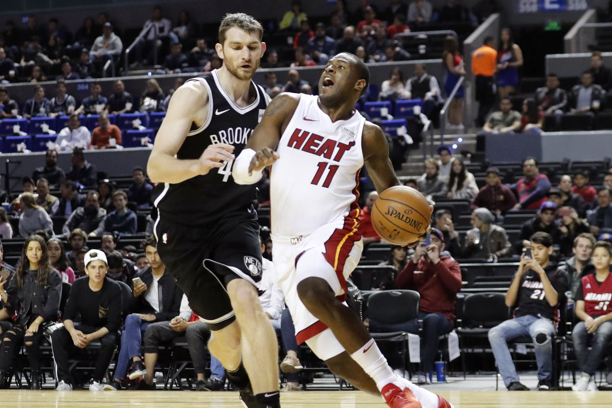 NBA: Miami Heat at Brooklyn Nets