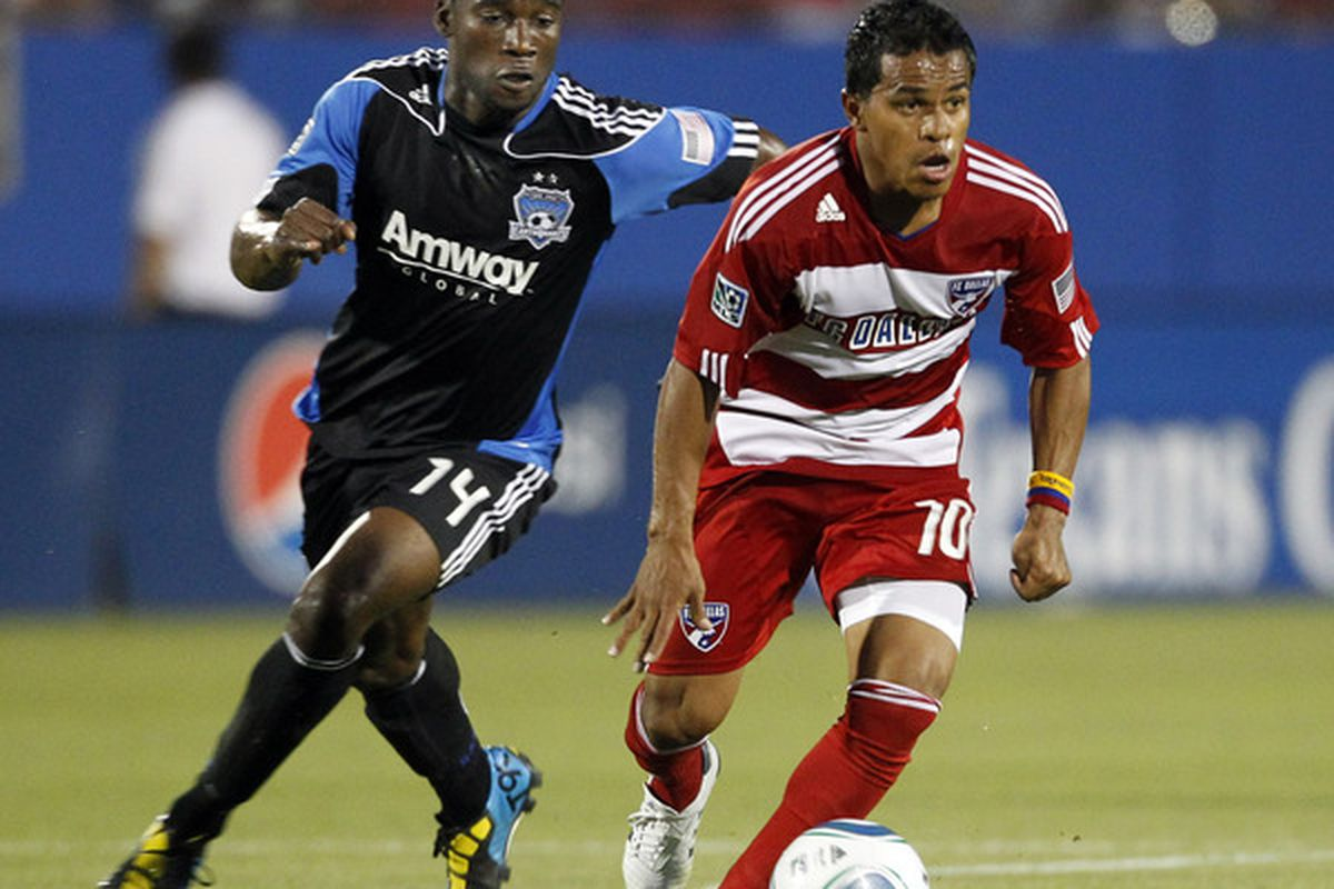 Brandon McDonald was traded to D.C. United for allocation money on June 27, 2011.