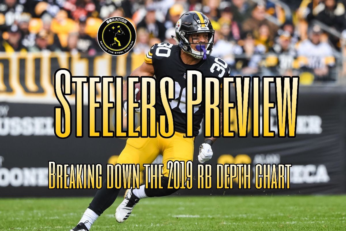5378f833b27 Podcast  Previewing the 2019 Steelers Depth chart — Running Backs ...