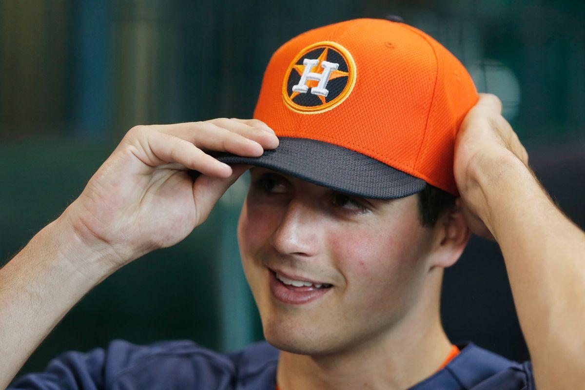 Orange hats are cool