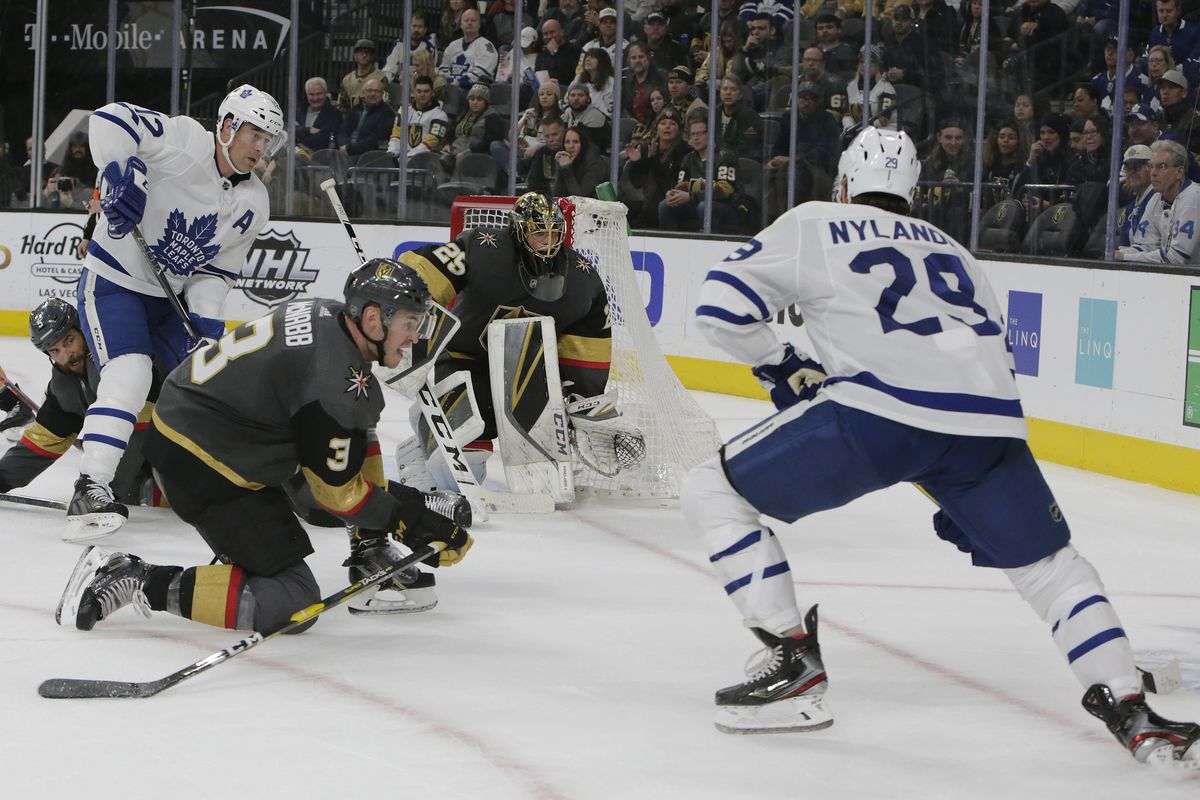NHL: FEB 14 Maple Leafs at Golden Knights