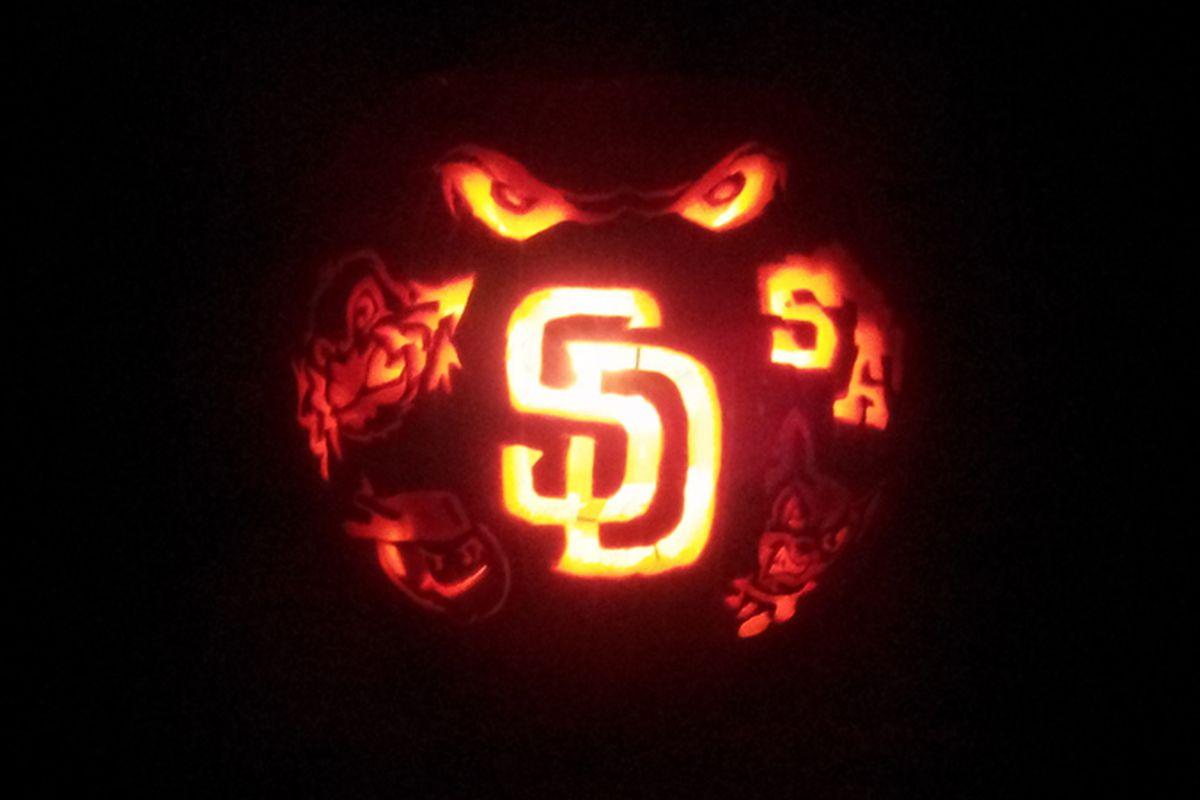 Padres pumpkin 2013