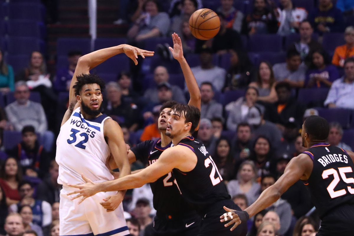 Suns 125 Wolves 109 Ghosts Of Timberwolves Past Canis Hoopus