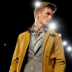The Billy Reid Spring 2013 collection is modeled during Fashion Week, Friday, Sept. 7, 2012, in New York.
