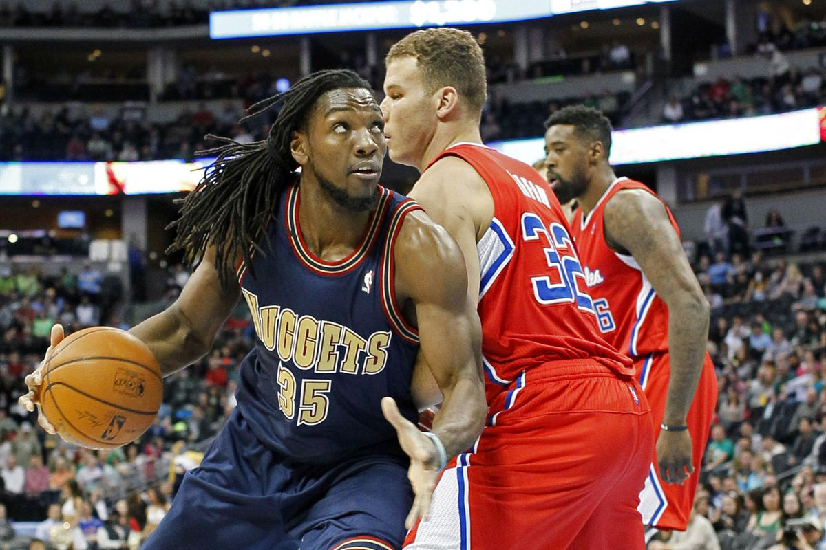 Many are expecting a breakout year from Nuggets F Kenneth Faried.