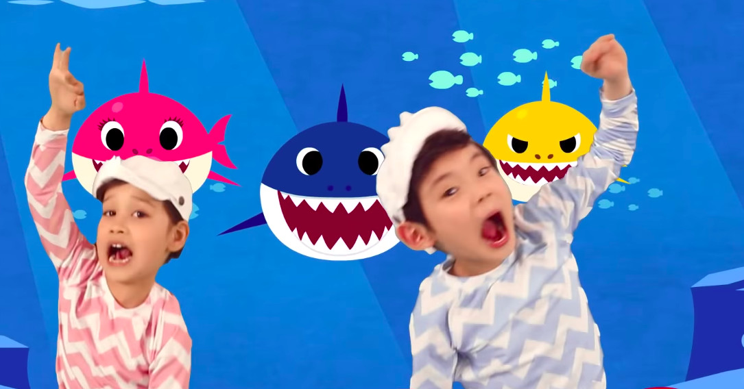 The Best of Baby Shark just topped Billboard  Here's how it