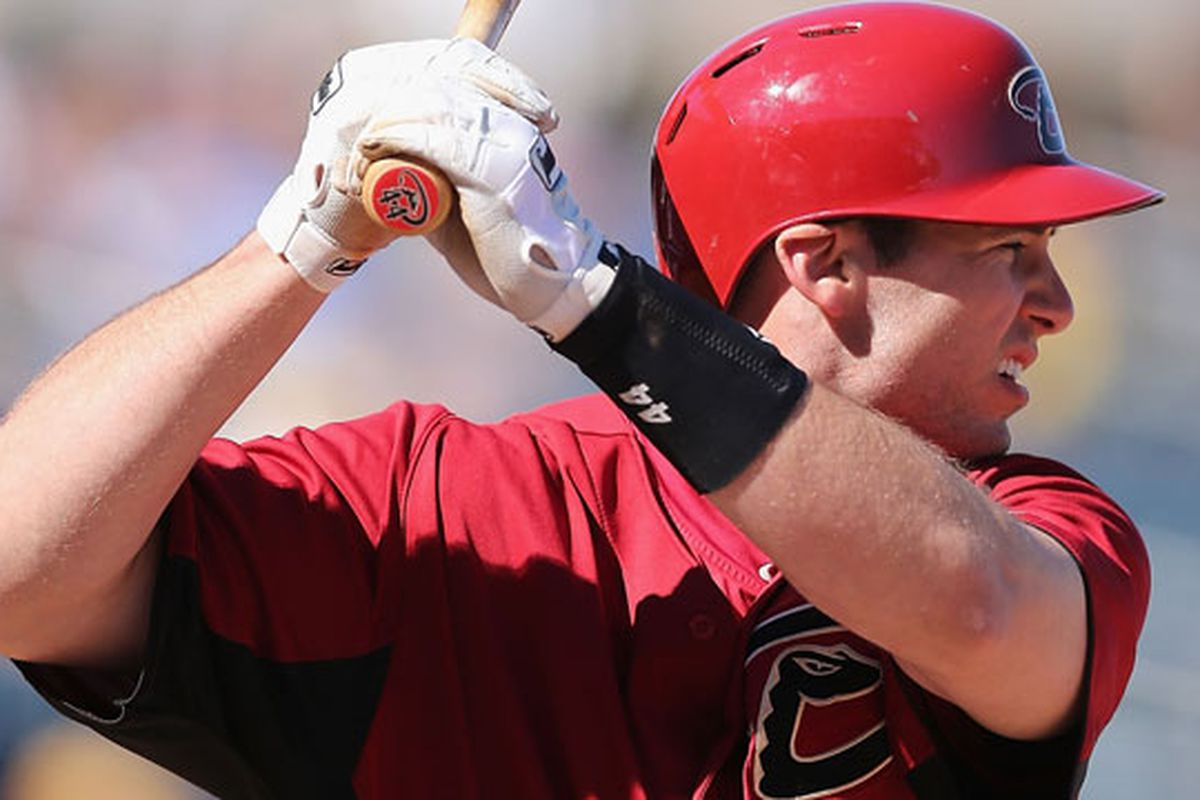 Paul Goldschmidt went 2-for-2 and drove in four runs on Sunday at Salt River Fields at Talking Stick.