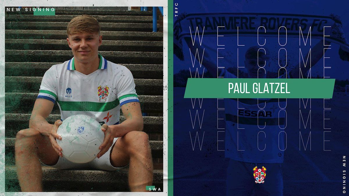 Paul Glatzel signs on loan for Tranmere Rovers