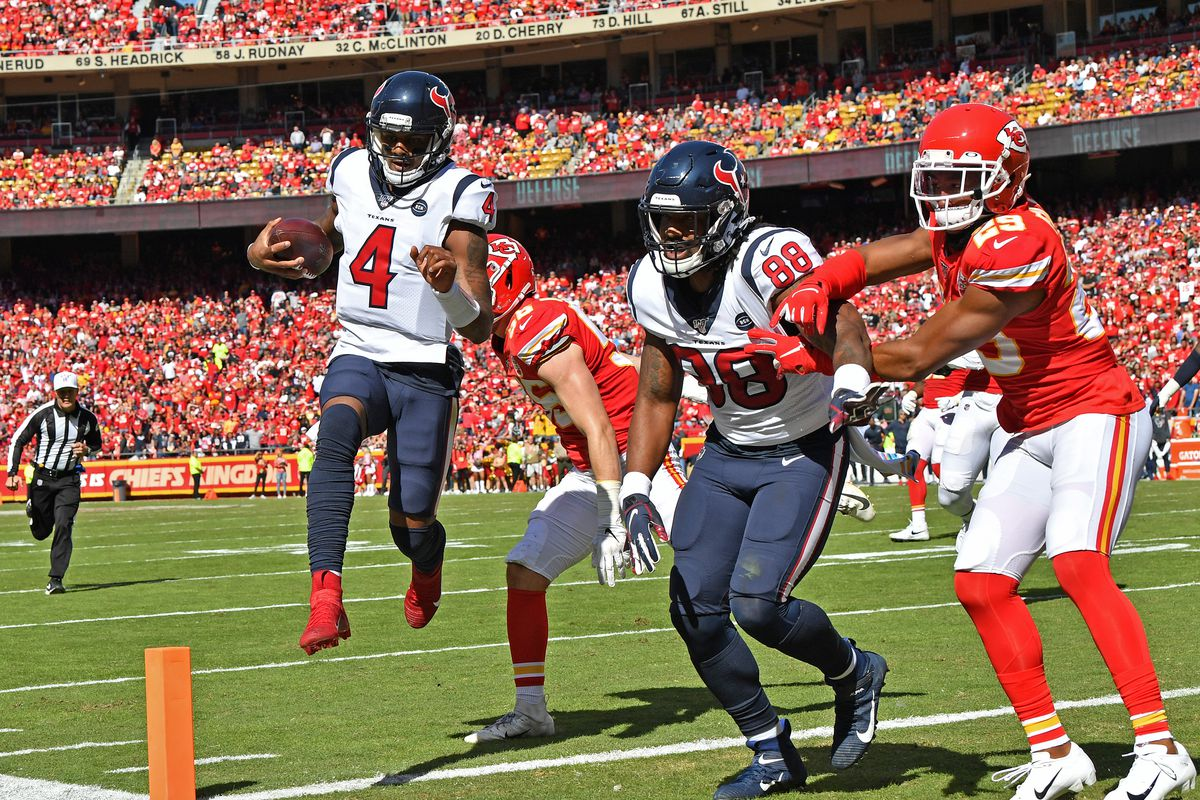 Final: Chiefs drop second game in a row, a 31-24 loss to the Texans - Arrowhead Pride
