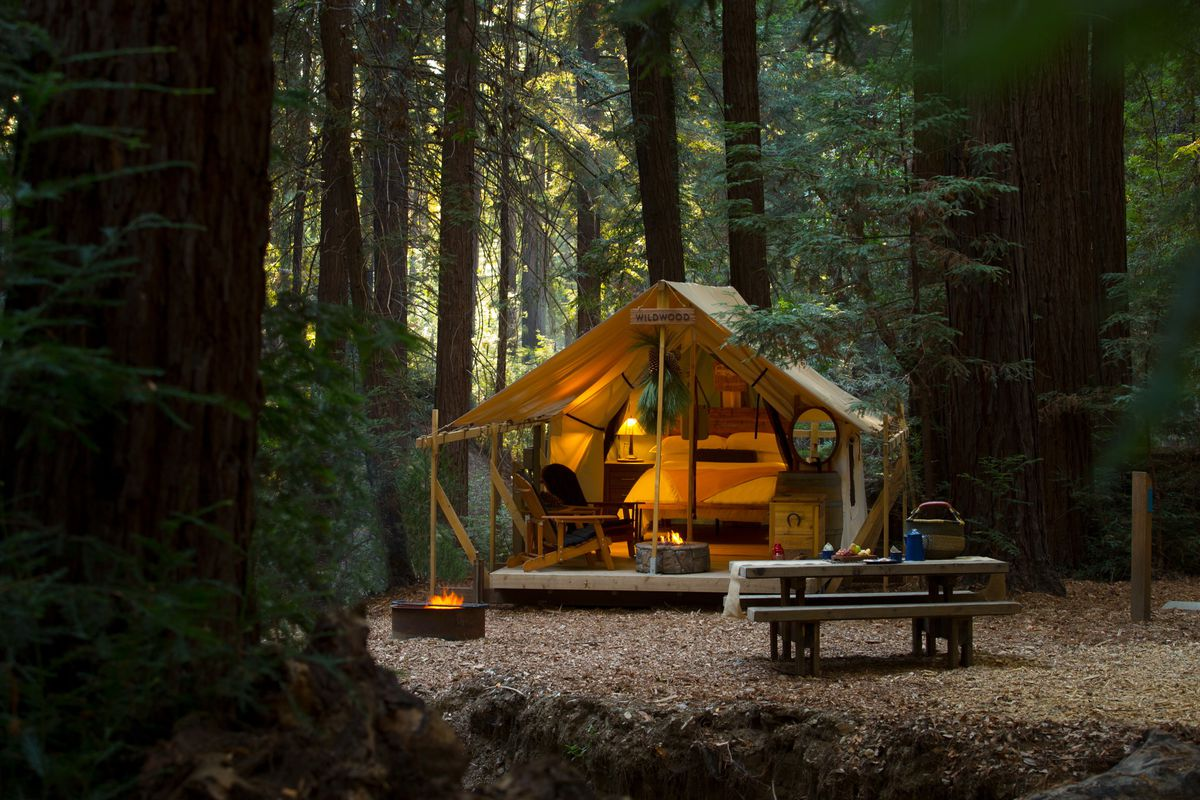 Glamping The 11 Best Resorts In The U S Curbed