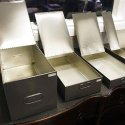 Storage sizes available at Safe Haven Private Vaults in Sandy  Wednesday, Oct. 24, 2012.