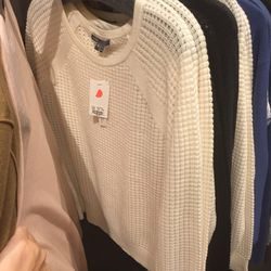 Cashmere sweater, $119 (was $345)