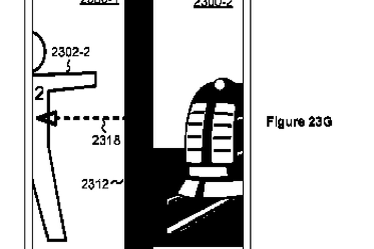 Apple scroll patent