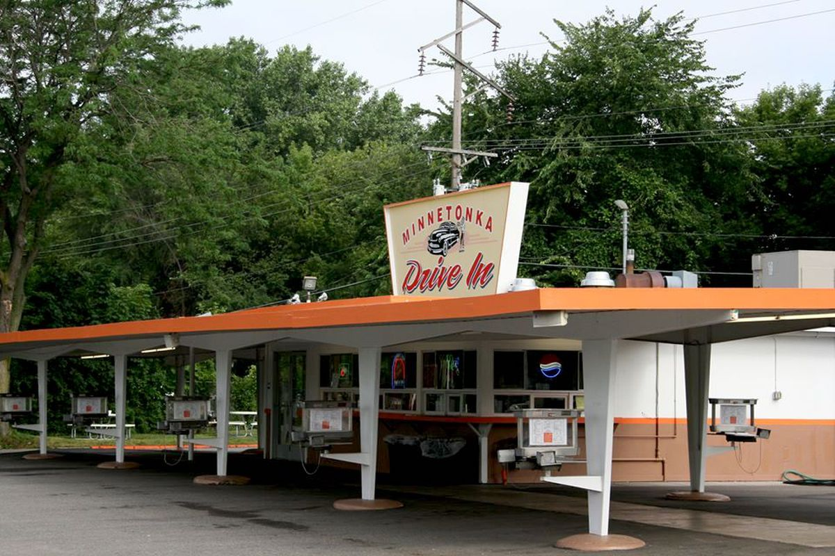 The midcentury styled Minnetonka Drive In