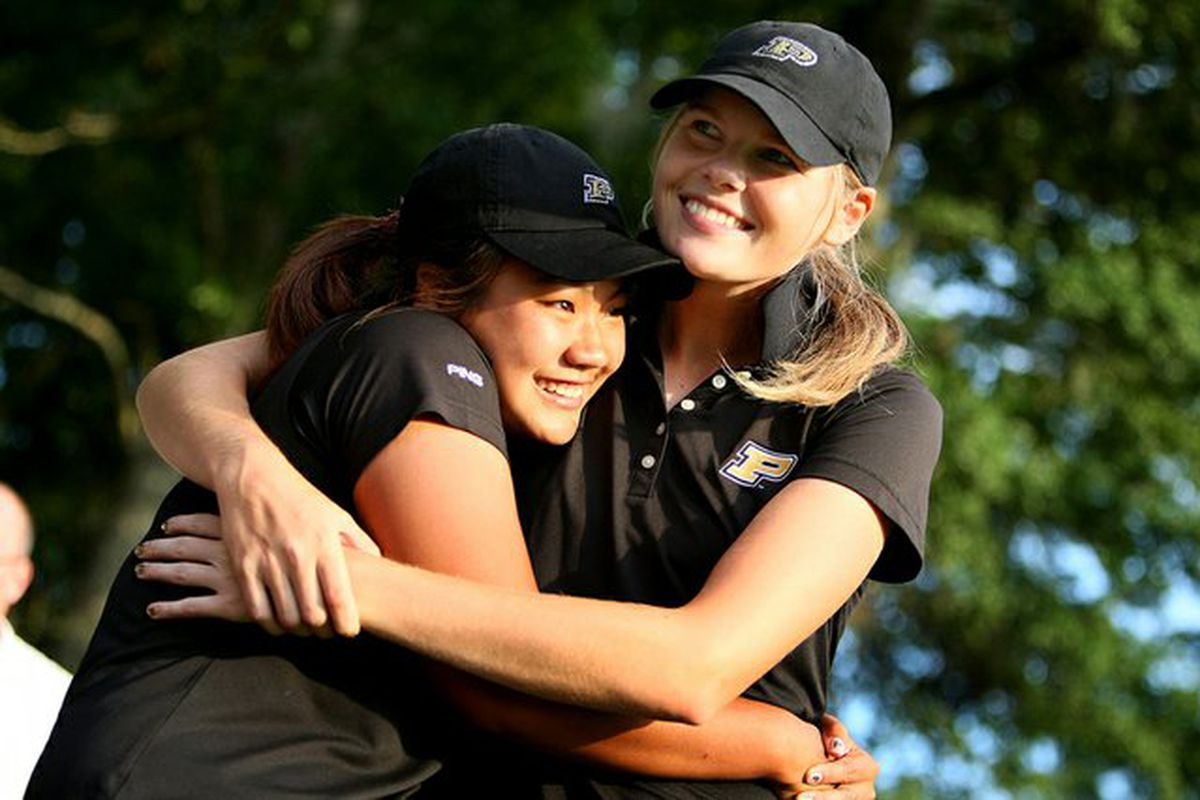 Purdue's lady golf squad is ranked No.1 to start the season.