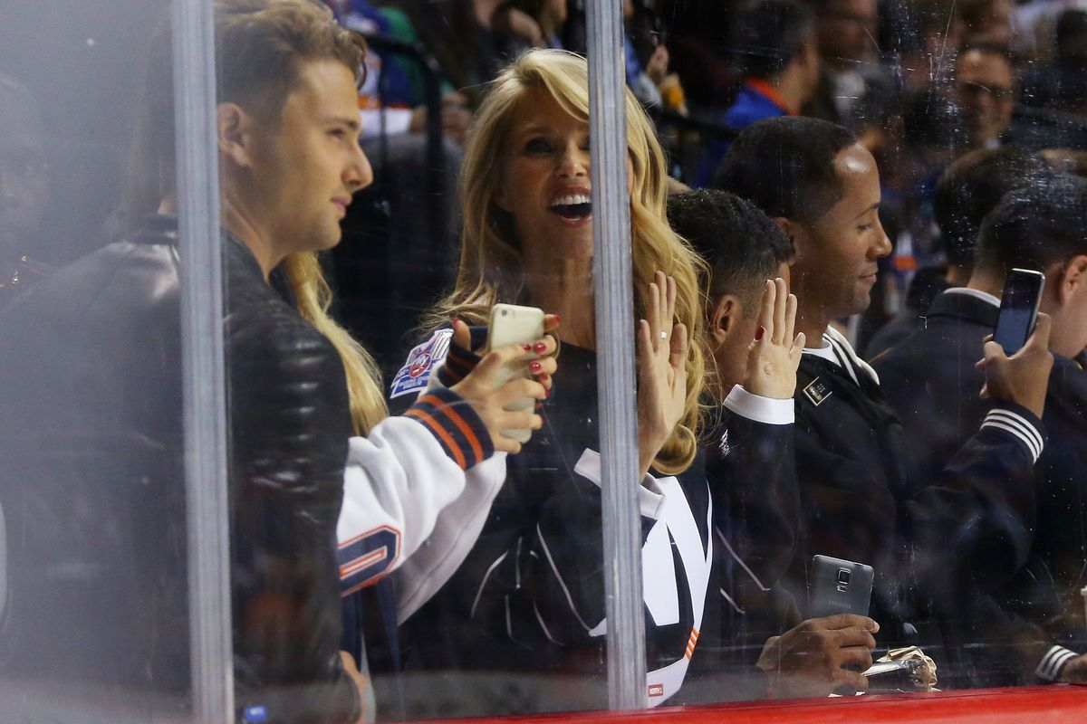 Oh, sure. You let Christie Brinkley near the ice. What about the rest of us?